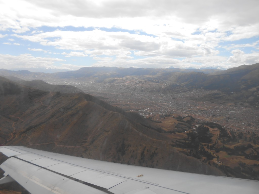 Coming into Cusco
